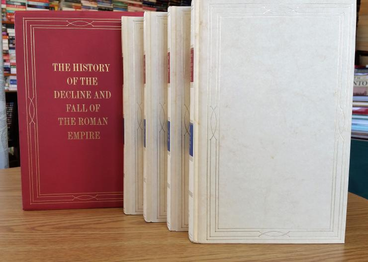 The History of the Decline and Fall of the Roman Empire, Folio box set