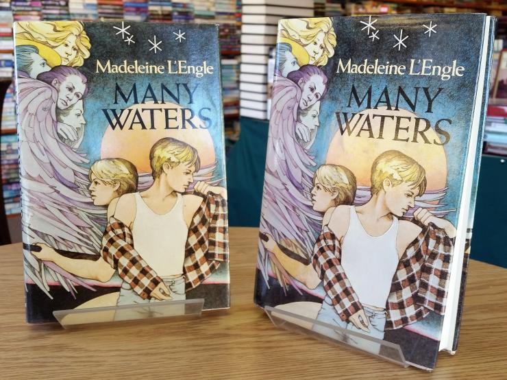 Many Waters by Madeleine L'Engle, two first editions, one signed